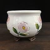 최고급백자 국산수제화분-5590 Handmade Flower pot