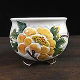 최고급백자 국산수제화분-5591 Handmade Flower pot