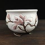최고급백자 국산수제화분-5593 Handmade Flower pot