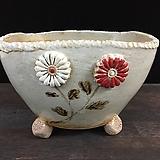특대사이즈 콜링기법 국산수제화분-5954 Handmade Flower pot