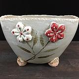 특대사이즈 콜링기법 국산수제화분-5956 Handmade Flower pot