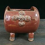 속파기 중사이즈 국산수제화분-5921 Handmade Flower pot