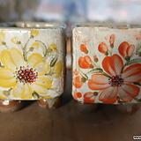 사각수제화분2종 Handmade Flower pot