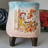 민들레수제화분0630 Handmade Flower pot