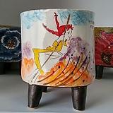 민들레수제화분0631 Handmade Flower pot