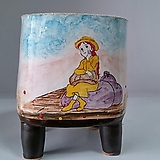 민들레수제화분0638 Handmade Flower pot