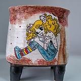 민들레수제화분0640 Handmade Flower pot