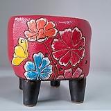 민들레수제화분0646 Handmade Flower pot