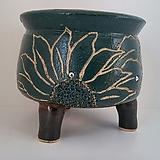 민들레수제화분0647 Handmade Flower pot