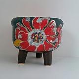 민들레수제화분0662 Handmade Flower pot