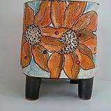 민들레수제화분0664 Handmade Flower pot