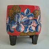 민들레수제화분0665 Handmade Flower pot