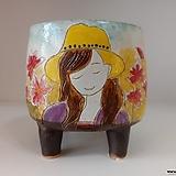 민들레수제화분0668 Handmade Flower pot