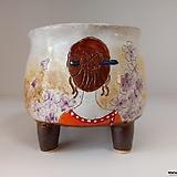 민들레수제화분0669 Handmade Flower pot