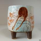 민들레수제화분0671 Handmade Flower pot
