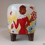 민들레수제화분0672 Handmade Flower pot