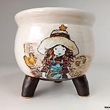 민들레수제화분0673 Handmade Flower pot
