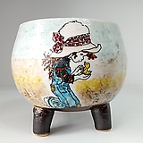 민들레수제화분0674 Handmade Flower pot