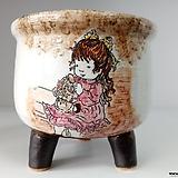 민들레수제화분0676 Handmade Flower pot
