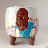 민들레수제화분0681 Handmade Flower pot
