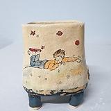 수제화분 어린왕자|Handmade Flower pot