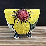 중사이즈 국산수제화분-8185|Handmade Flower pot