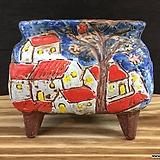 수입수제화분-8340 (랜덤발송)|Handmade Flower pot