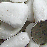 백자갈 5호 15kg 대포장 자갈 삼호유리 돌 마감돌 복토 화장토 미장토 어항자갈 어항돌 조경자갈|