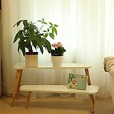 화이트나무진열대/투인원|