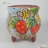 고급수제화분수입-015618|Handmade Flower pot
