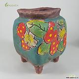 고급수제화분수입-020029|Handmade Flower pot