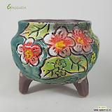 고급수제화분수입-020230|Handmade Flower pot