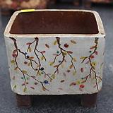 7. 은가비 꽃그림 수제화분|Handmade Flower pot