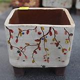 10. 은가비 꽃그림 수제화분|Handmade Flower pot