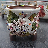 15. 은가비 꽃그림 수제화분|Handmade Flower pot