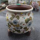 20. 은가비 꽃그림 수제화분|Handmade Flower pot