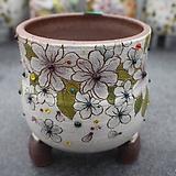 21. 은가비 꽃그림 수제화분|Handmade Flower pot