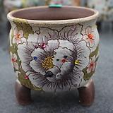 22. 은가비 꽃그림 수제화분|Handmade Flower pot