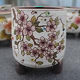 28. 은가비 꽃그림 수제화분|Handmade Flower pot