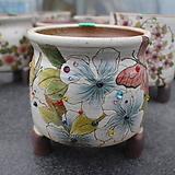 29. 은가비 꽃그림 수제화분|Handmade Flower pot