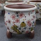 36. 은가비 꽃그림 수제화분|Handmade Flower pot