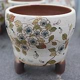 38. 은가비 꽃그림 수제화분|Handmade Flower pot