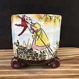 빨간머리앤 국산수제화분-7042|Handmade Flower pot