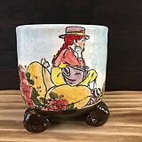 빨간머리앤 국산수제화분-7054|Handmade Flower pot