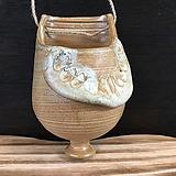 걸이용 국산수제화분(물구멍있음)-6130|Handmade Flower pot
