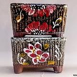 수제화분 2종세트|Handmade Flower pot