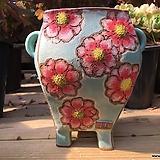 지다 수제 꽃 화분|