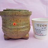 수제화분 3개셋트 06-006 (무광 연그린색)|Handmade Flower pot
