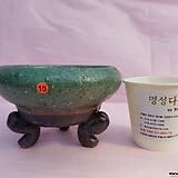 수제화분 06-10 (유광 그린색)|Handmade Flower pot