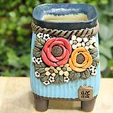 수제화분 봄날공방 사각큰분|Handmade Flower pot